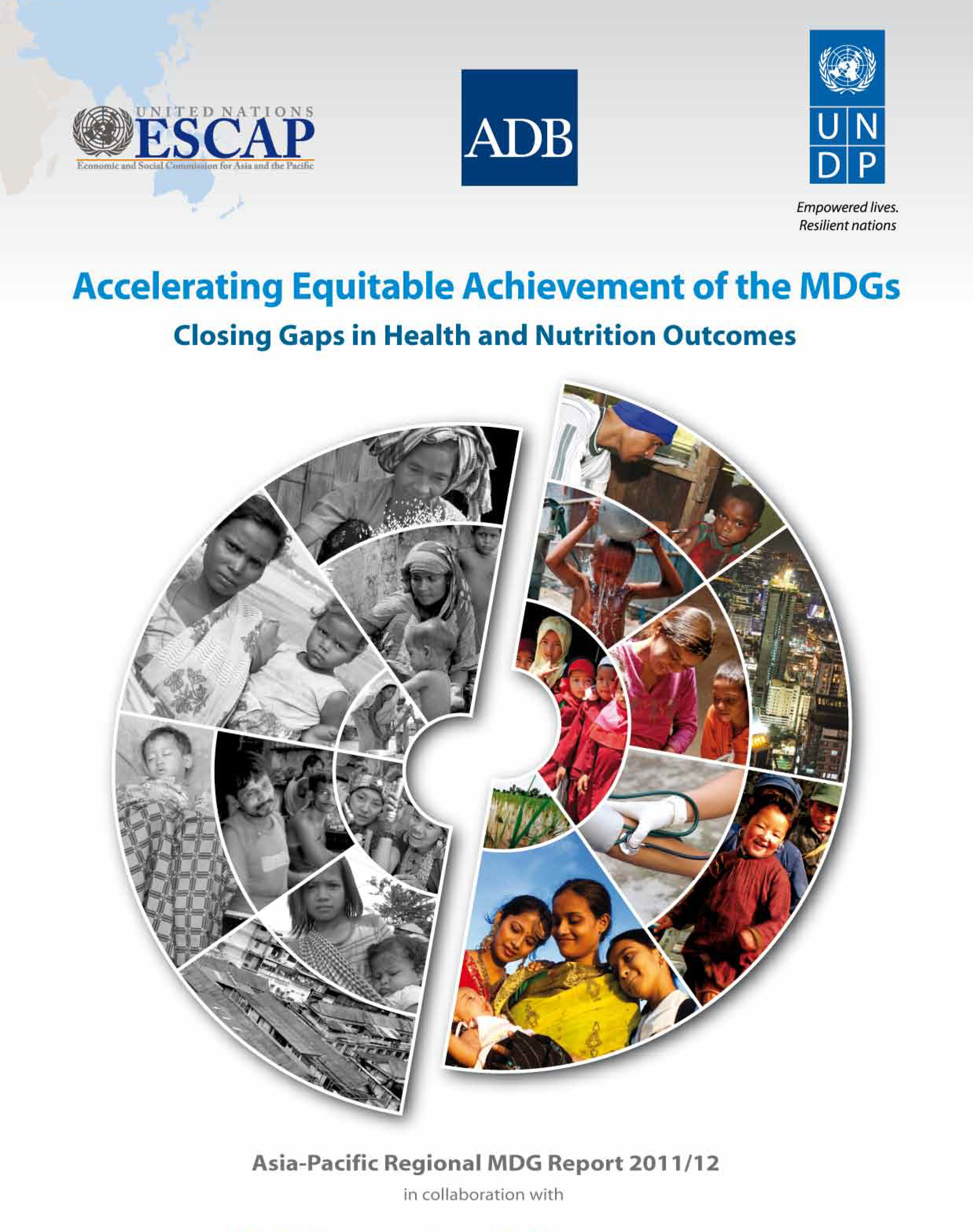 2012 MDGs Regional Report - Cover