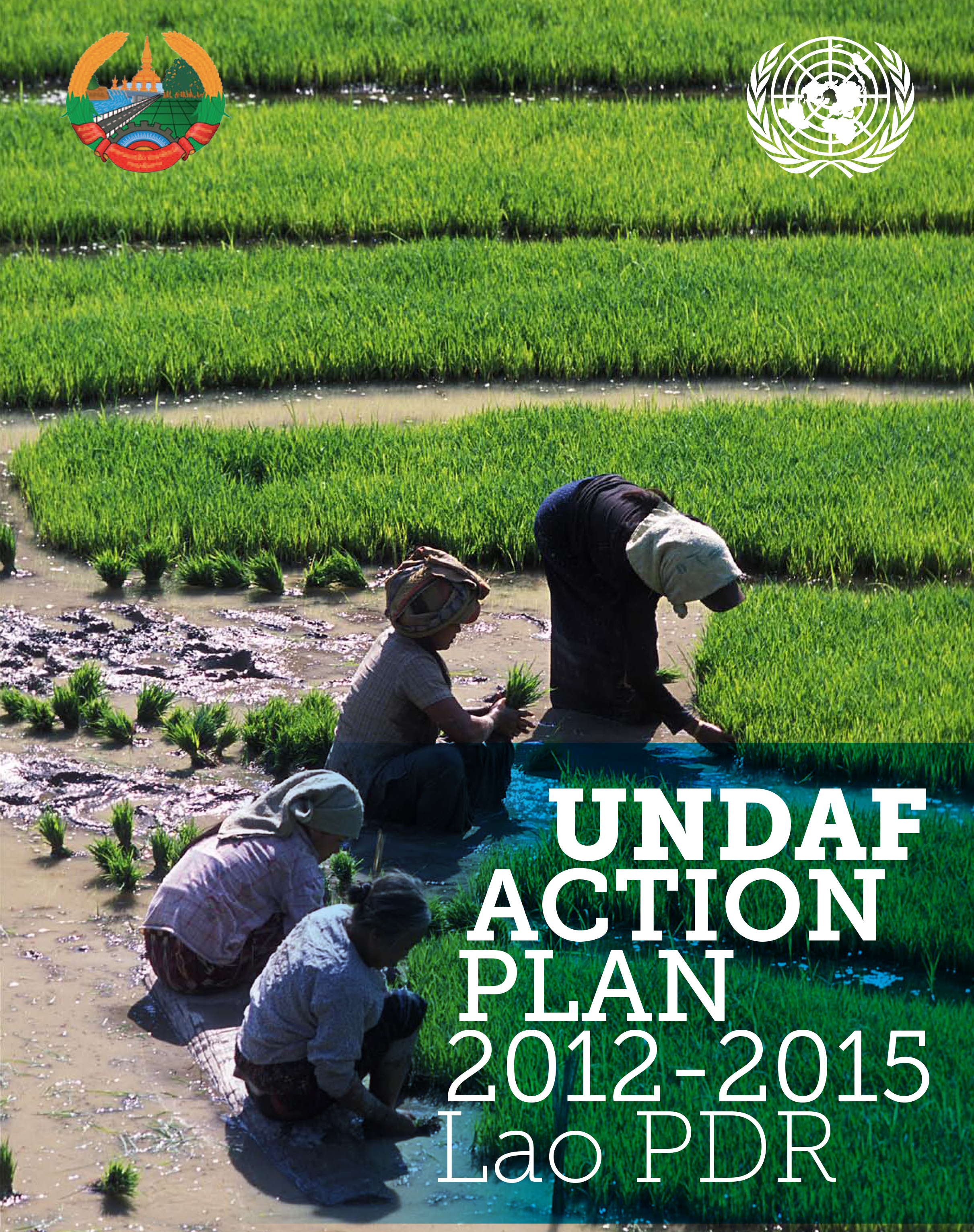 2012-2015 UNDAF Action Plan - Cover