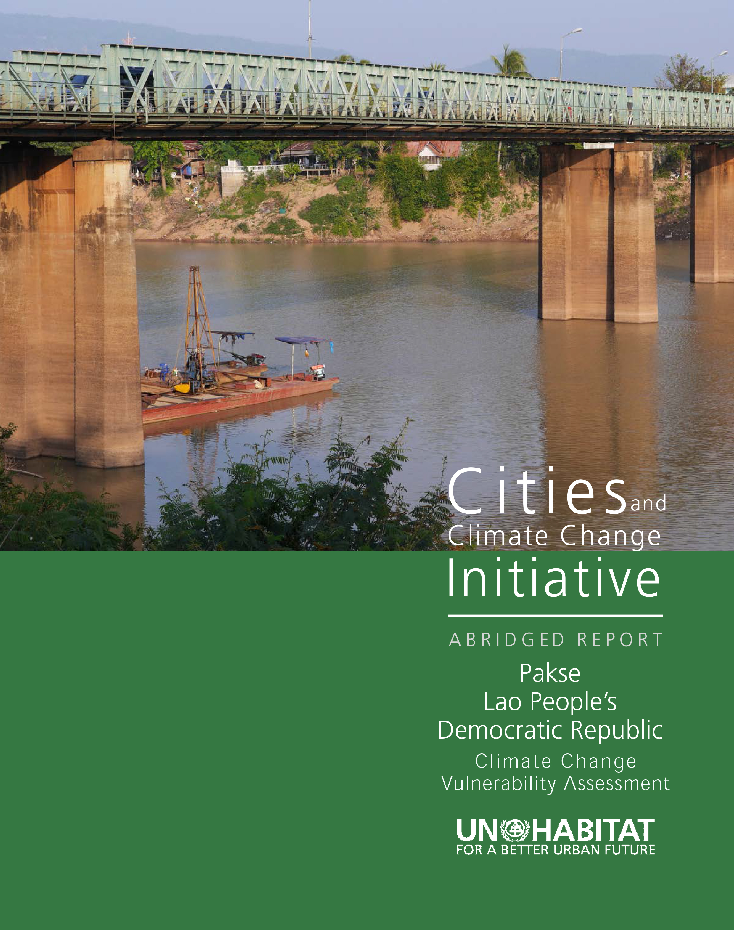 2014 Cities and Climate Change - Cover