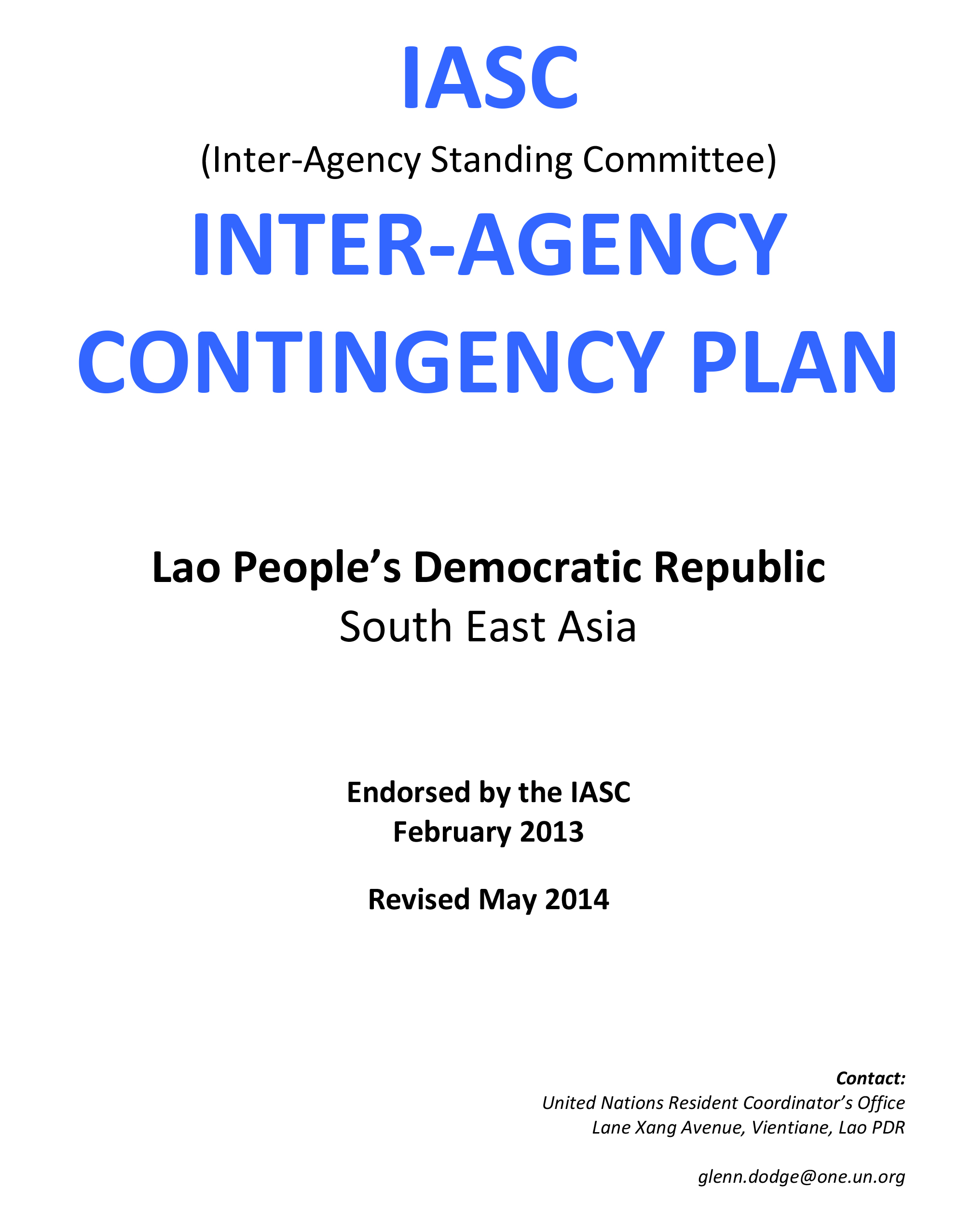 2014 IACP - Cover