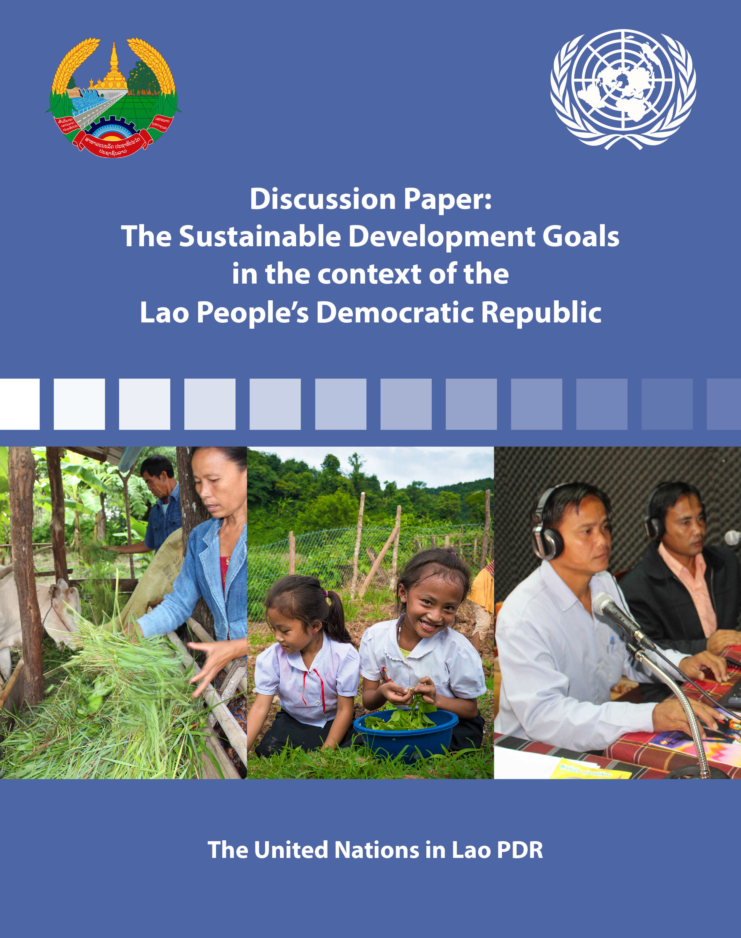 2015 SDGs Adaptation in Lao PDR - Cover
