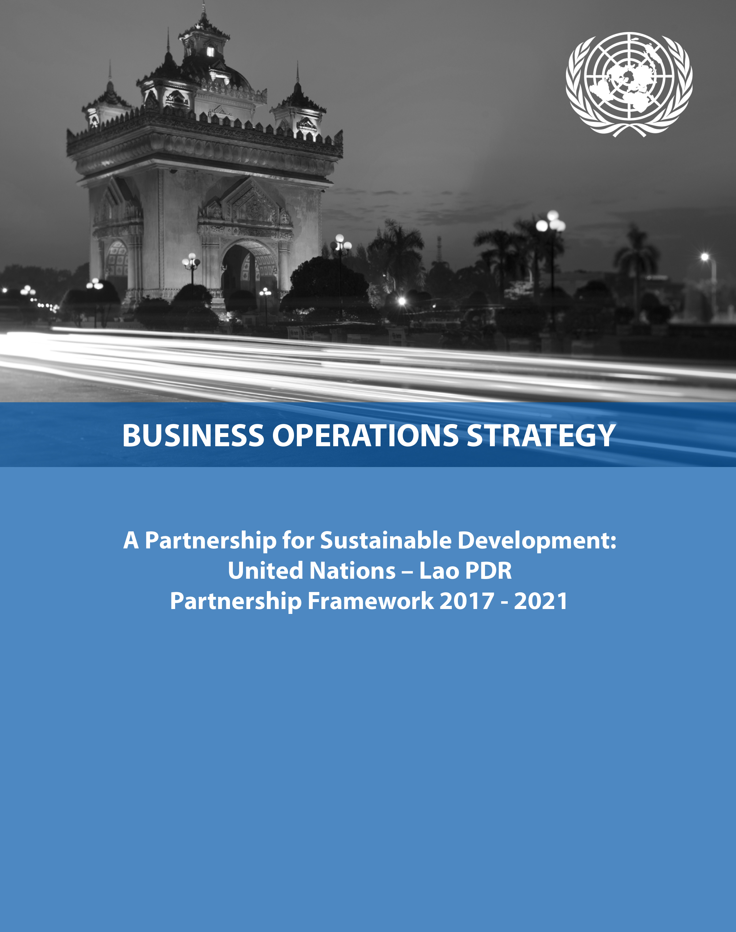 2017 Business Operations Strategy - Cover
