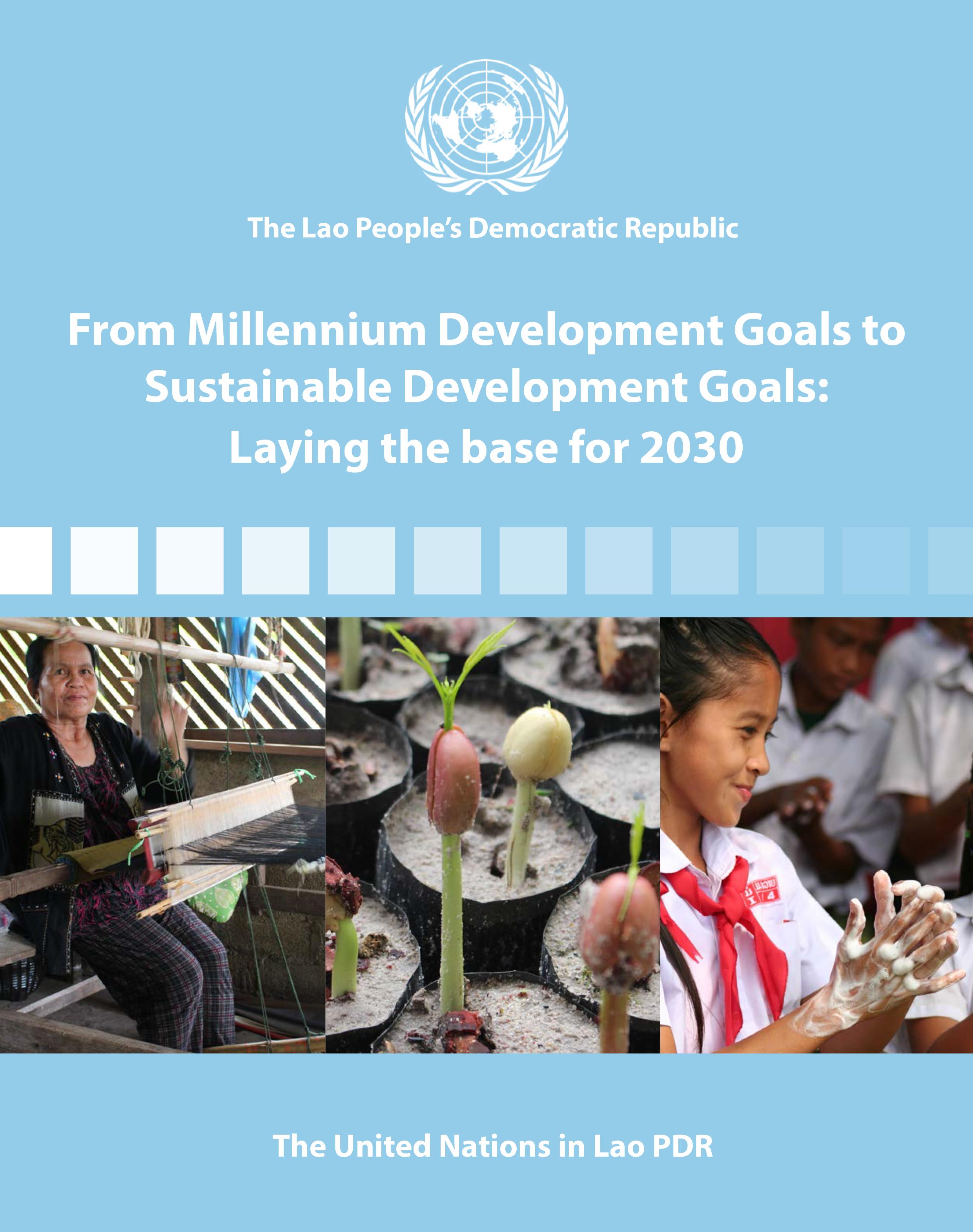 2017 MDGs-SDGs - Cover