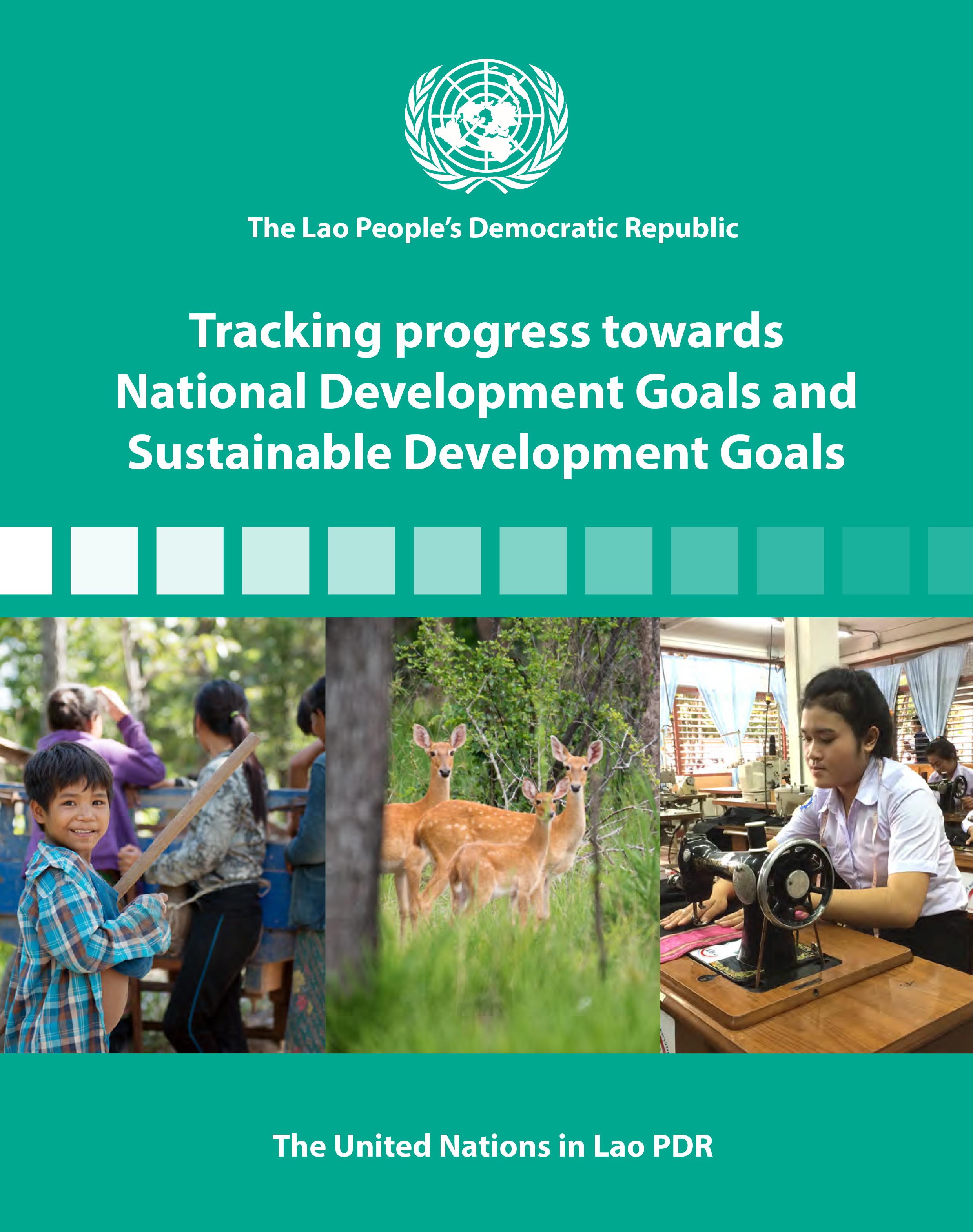 2017 Tracking Progress Towards National Development - Cover