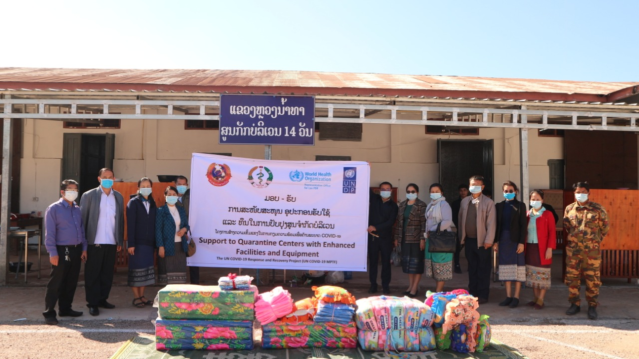 Ministries and UN Lao PDR Unite to Respond to COVID-19
