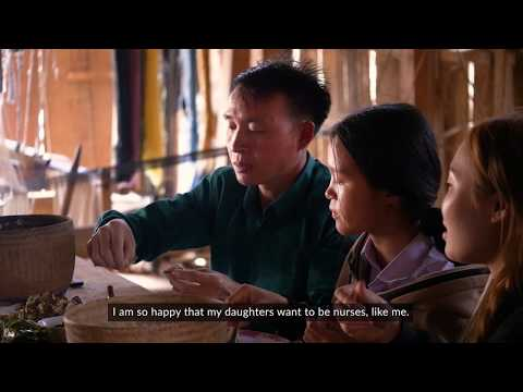 """""""My daughters want to be nurses like me"""": Story of Khamphet, a nurse from Laos"""